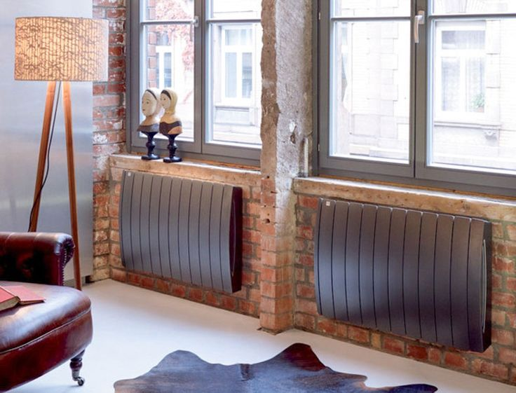 Curve E aluminium electric radiator in Volcanic finish. 96 best Cool electric radiators  images on Pinterest   Electric