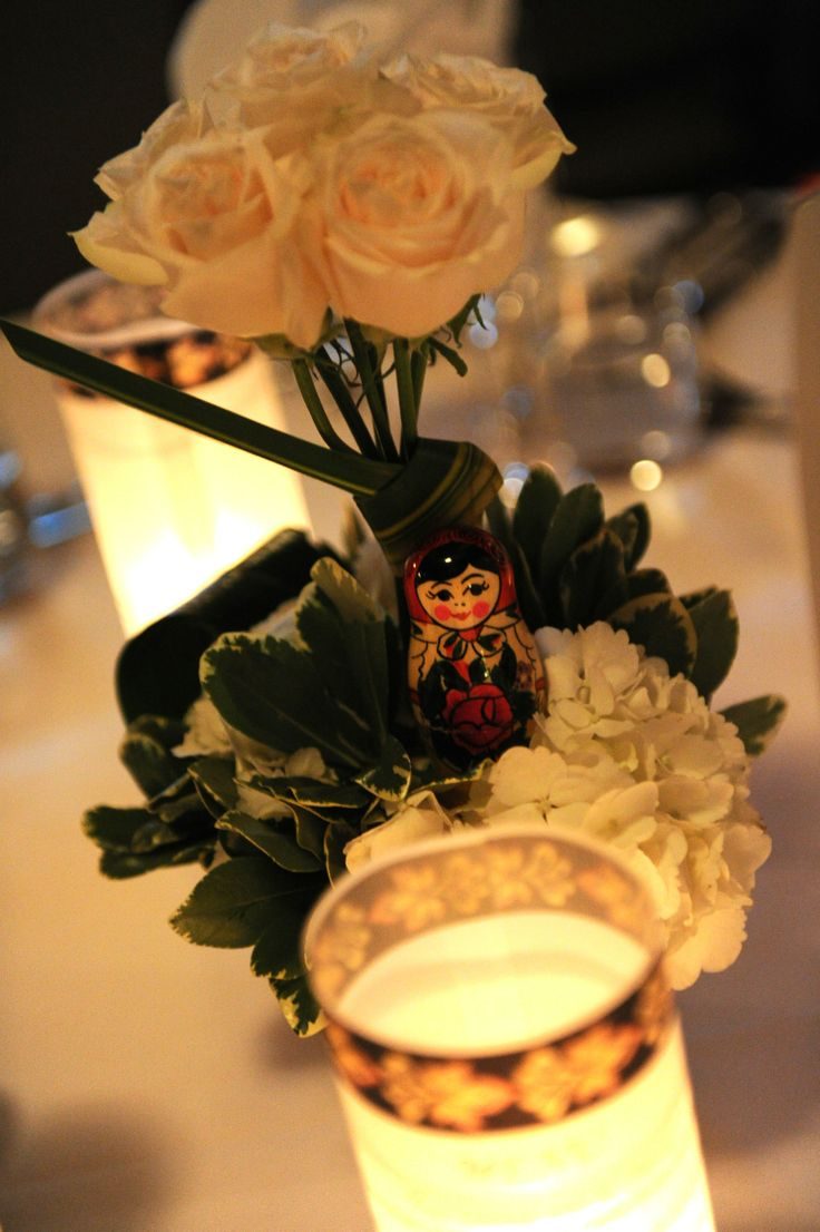 Russian Doll Centerpiece