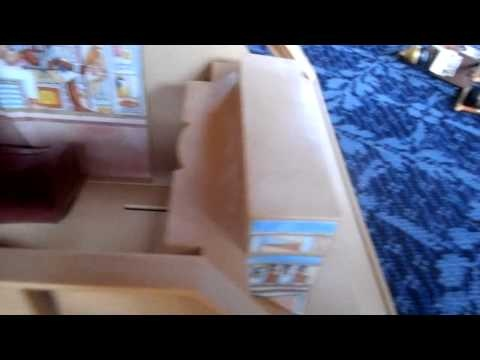 Playmobil Pyramid Adventure- I love the way this child is playing.  He's so much fun! So smart!