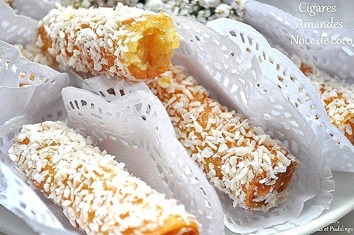 cigare amandes noix de coco