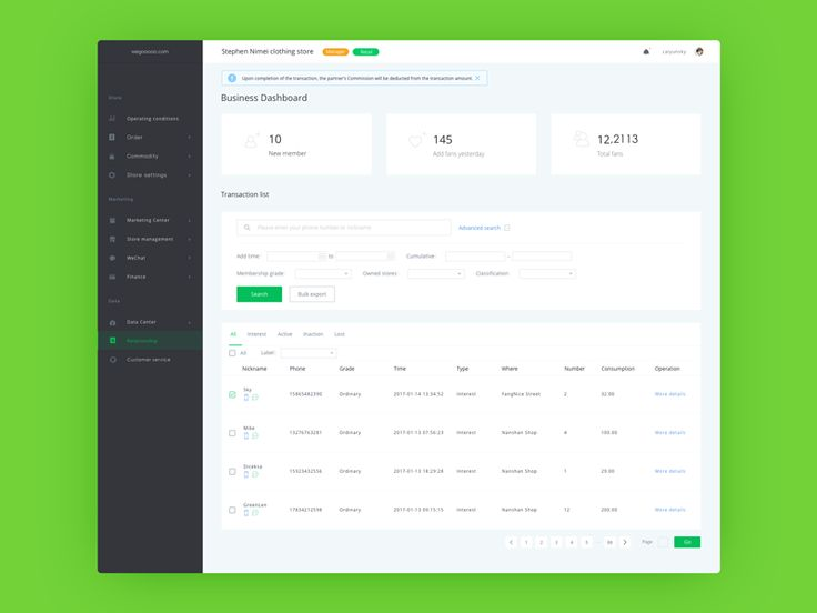 Business Dashboard  by 彩云Sky  #Design Popular #Dribbble #shots