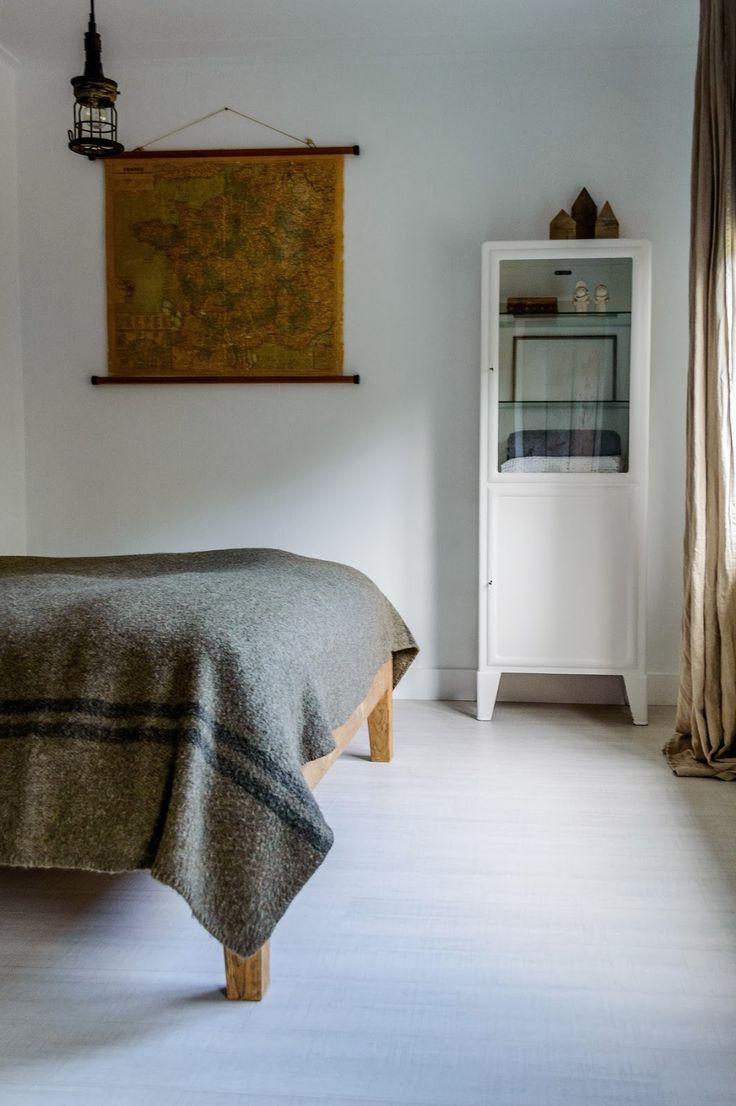 medical cabinet | wool blanket