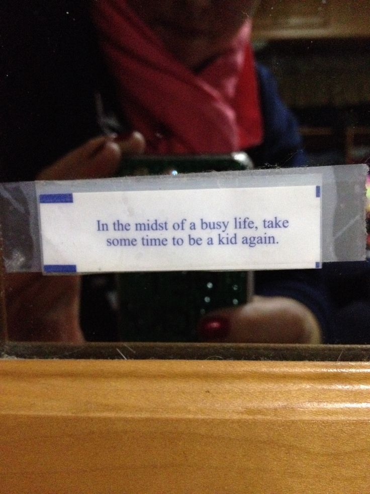 Good fortune cookie quote