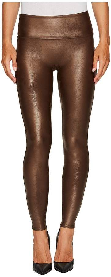 adcd4661c03fcf Spanx - Ready-to-Wow!tm Faux Leather Leggings Women's Casual Pants ...