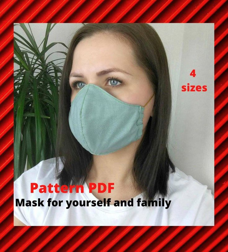How to wear face mask with ties in 2020 mask for kids