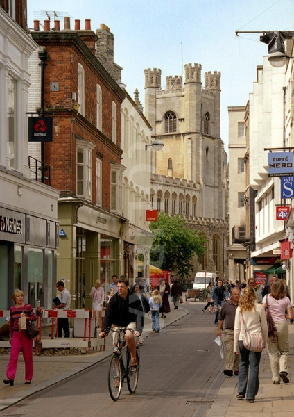 Cambridge - we used to have great times  great times shopping in Cambridge when we lived in Haverhill, Suffolk.