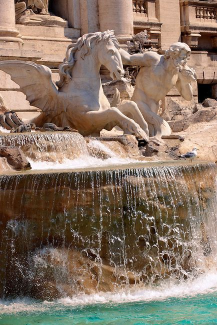 The Baroque Trevi Fountain ~ Rome, Italy Lazio