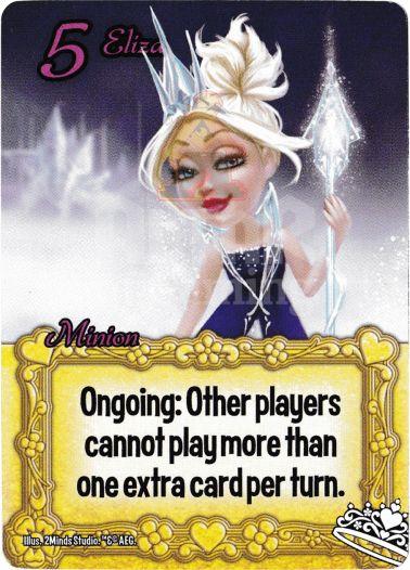 Eliza - Princesses - Smash Up Card | Altar of Gaming