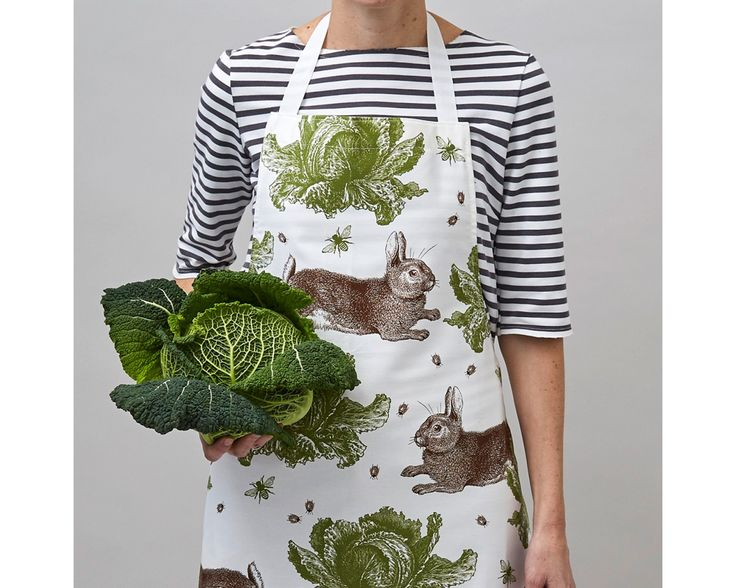 Hase & Kohl mein Begleiter in der Küche und im Garten. Schürze aus England. #englischerstil #englischerlandhausstil