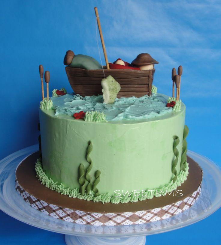 17 best Cake Decorating Ideas images on Pinterest Fishing cakes