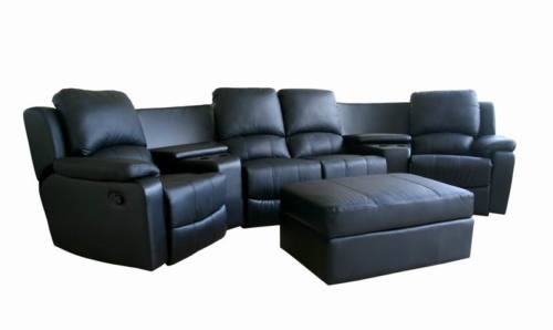 8802 New Theater Seating Recliner Movie Chairs 4 Seats