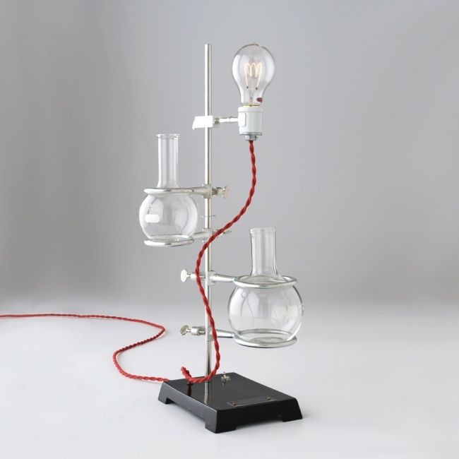 Beaker Lab Light from Schoolhouse Electric: Because every geek needs a room that's decorated like a mad scientist's lab. :)