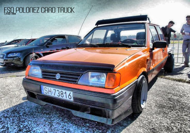 FSO Polonez Cargo Truck by fisher /// https://driiive.com/fisher