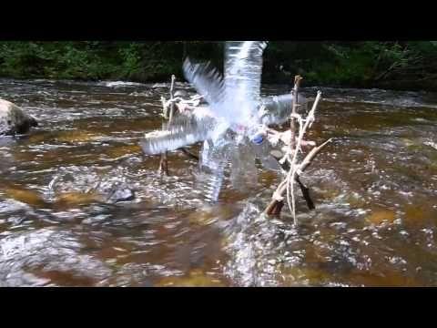 ▶ Water Wheel from Plastic Bottles - YouTube