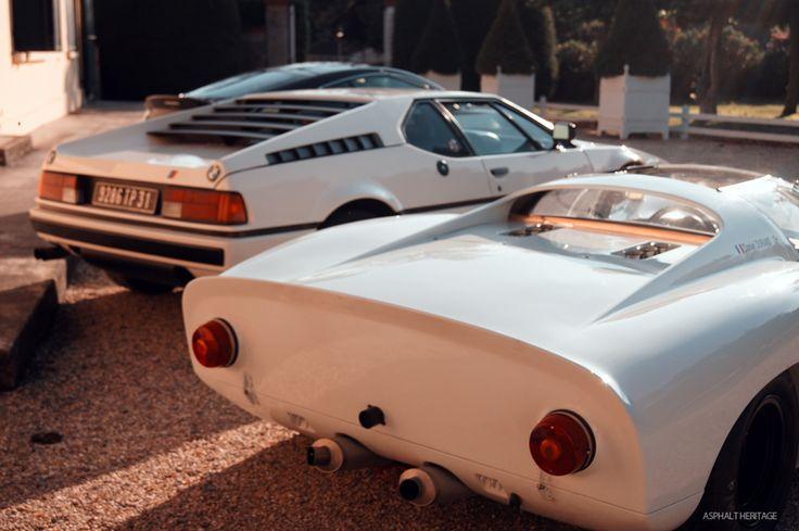 Porsche 910 & BMW M1