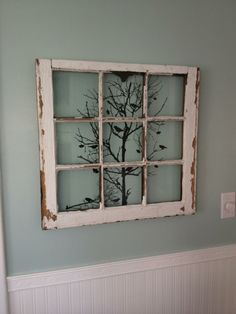 Tree In The Old Window