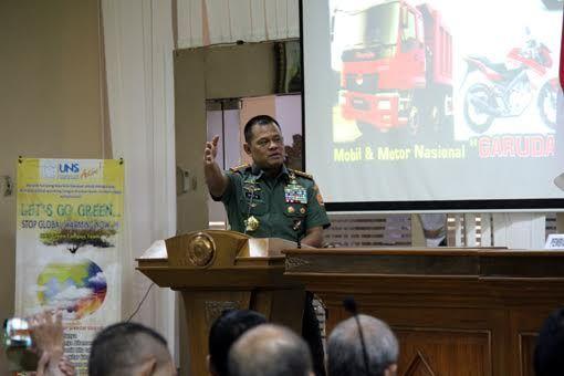 Panglima TNI : TNI Perlu Inovasi Dibidang Kemiliteran