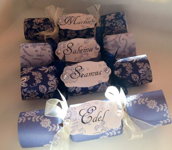 8 best wedding crackers images on pinterest biscuit crackers handmade wedding crackers favours ireland solutioingenieria Image collections