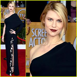 Claire Danes SAG awards 2013 - I love this look, and have been loving Givinchy (spelling?) since Rooney Mara wore it while promoting Dragon Tattoo.