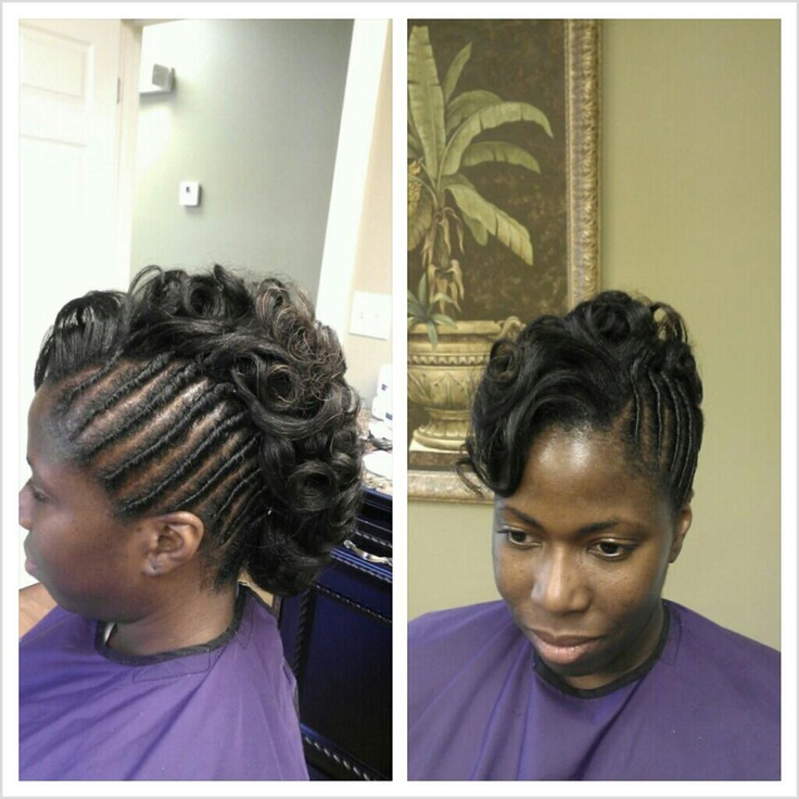 81 best relaxed hair images on pinterest hairstyles braids and pretty mohawk updo on relaxed hair pmusecretfo Gallery