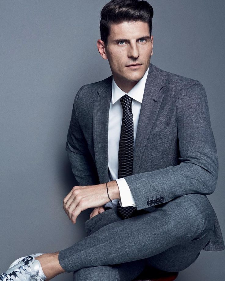 From hugoboss - Footballer Mario Gomez scores in BOSS Menswear in the latest issue of @gqturkiye #thisisboss #bosssports