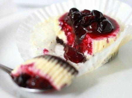 Cheesecake mertilo