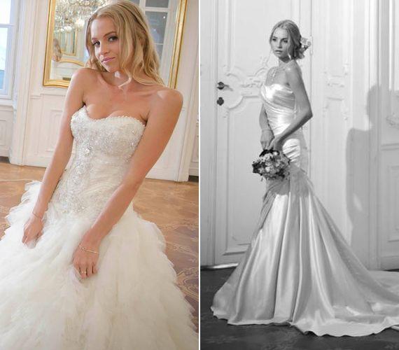Esküvői képek! A magyar műsorvezető álomszép menyasszonyi ruhába bújt | femina.hu
