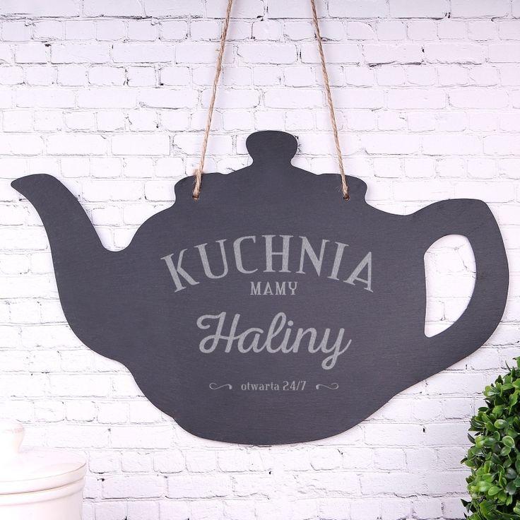 Personalizowana tabliczka kamienna KUCHNIA