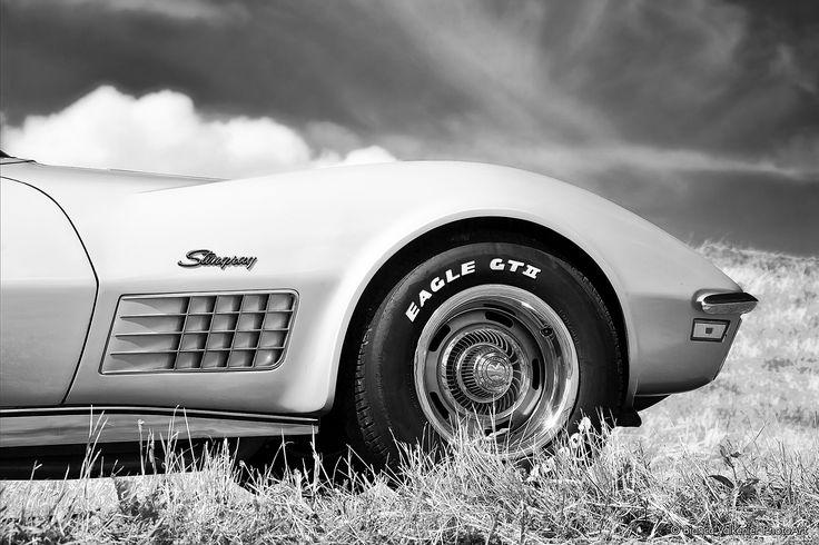 a Chevrolet Corvette Stingray of 1972