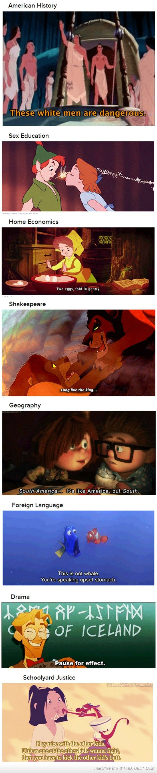 Subjects Disney Taught You Better Than School Did