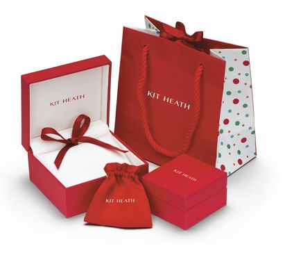 All Kit Heath Jewelry comes gift wrapped like this!!   CuteKidStuff.com