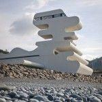 unusual: Beach House, Buildings, House Architecture, Organic Architecture, Digital Cameras, Sarpi Border, Border Checkpoint, Design, Amazing Architecture