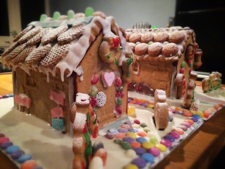 Ten steps to enjoy this holiday season. Step 1: #baking  Gingerbread house