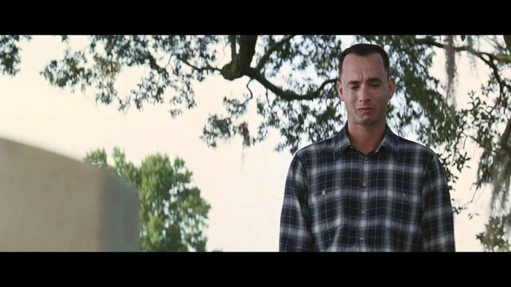 Touching Scene from Forrest Gump. His farewell to Jenny. Appreciate every moment you share with another person!