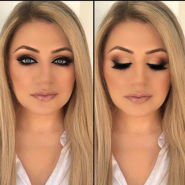 Smokey Eye Makeup For Blue Eyes Blonde Hair | www.pixshark ...
