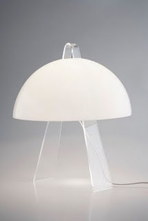 Finnish Design Home Decor from Aarikka  Kuutamo table lamp design by Eero Sairanen
