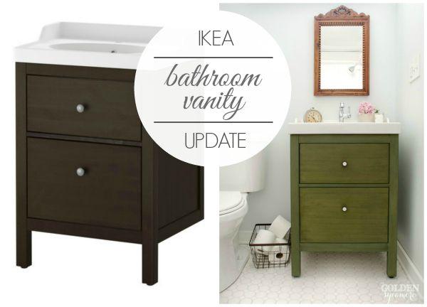 Ikea Bathroom Vanity : Update on the Update - The Golden Sycamore