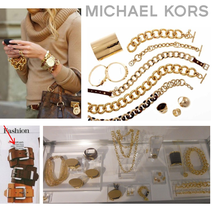 Great mix of gold jewelry