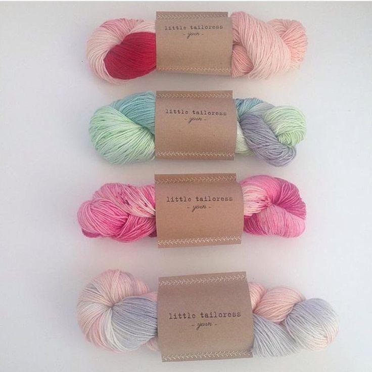 Little Tailoress yarn | 📷 by Casey Maura (@caseymauraxo) on Instagram