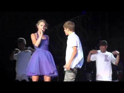 Justin Bieber Taylor Swift Baby Staples Center August 23, 2011 - YouTube