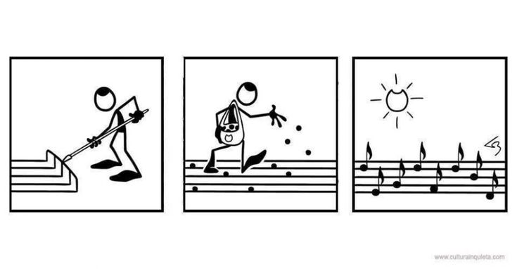 planting music