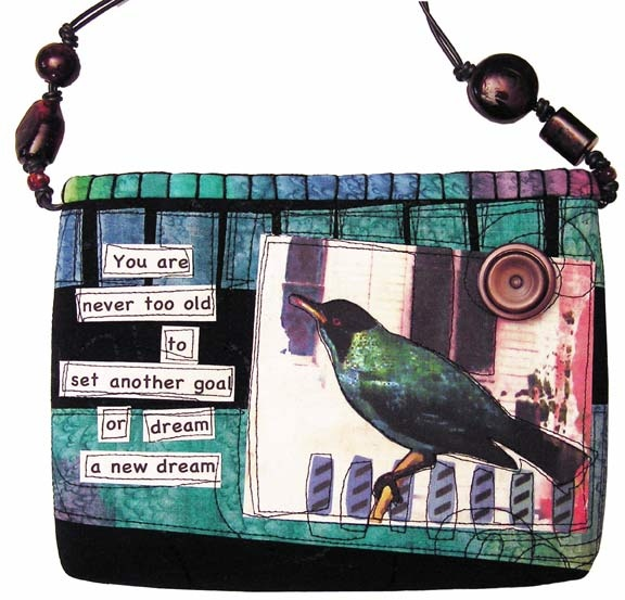 Handmade purses and bags by DJ Pettitt  CS Lewis quote