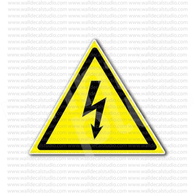 From 400 buy danger high voltage safety sign sticker at