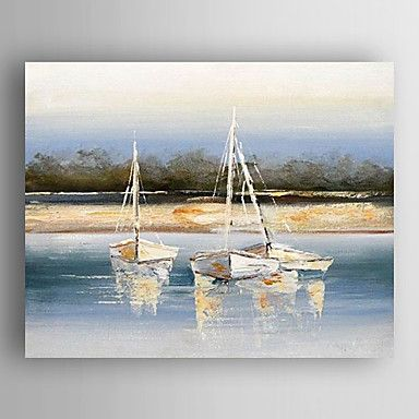 Oil Painting Impression Landscape Hand Painted Canvas with Stretched Framed Ready to Hang 2016 - £44.09