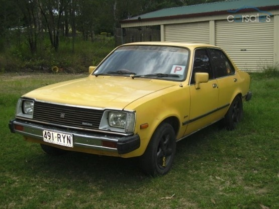 Holden Gemini te.....this is the same as my first car.