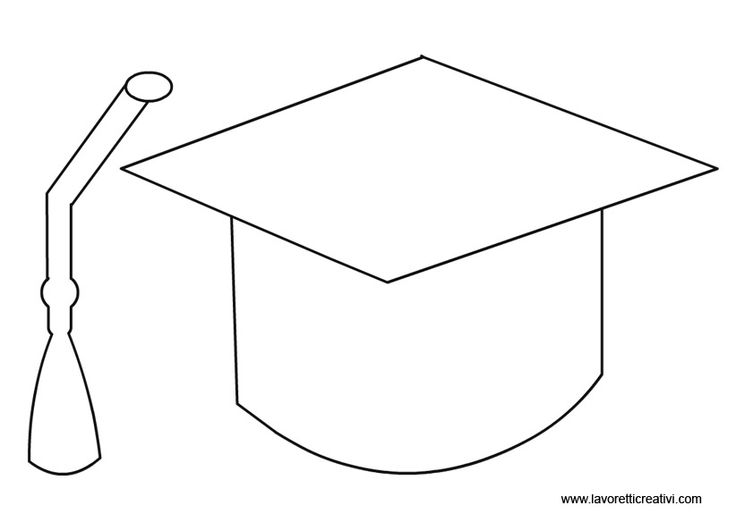 Graduation hat template 28 images best printable for Graduation mortar board template
