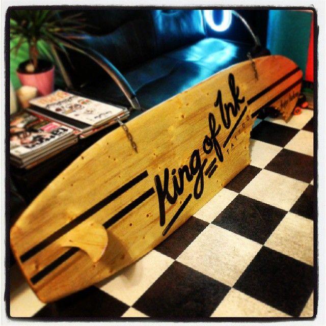 #surfboard #sign #tattooparlor