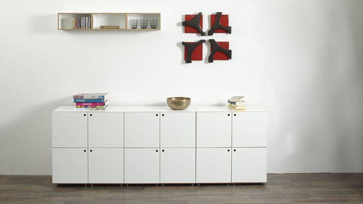 Hier Ein Sideboard Aus Cubes Mit Und Ohne Türen, Und Ein Paar, Attraktive  Mobel