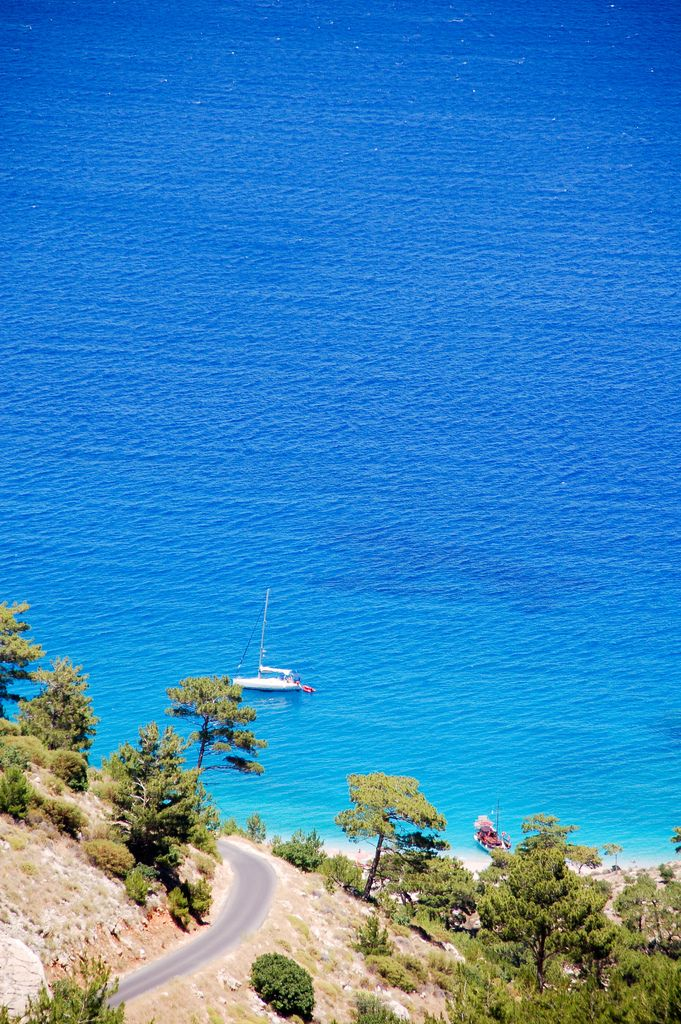 Apella Bay, Karpathos, Greece