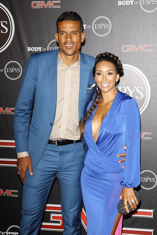 The split: 'Matt and I were together for eight years. And I think the course of our relationship is just due to evolution. We're always gonna be good friends. Obviously we have kids together,' said Govan on her split from Barnes this year